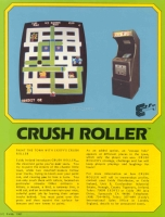 Exidy - CRUSH ROLLER