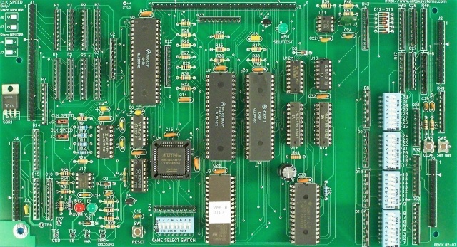 Replacement MPU for BALLY and STERN pinball games