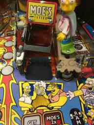Simpsons Pinball Party Moes Ramp